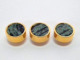 Botões c/ Pedra Mineral Lapidada - JC-BG0017