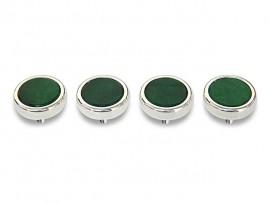 Botões c/ Pedra Mineral Lapidada* - Ref. JC-RS9