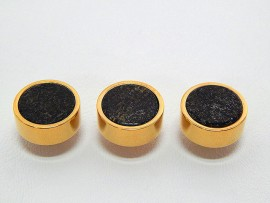 Botões c/ Pedra Mineral Lapidada - JC-BG0014
