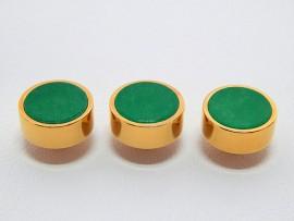 Botões c/ Pedra Mineral Lapidada - JC-BG0007