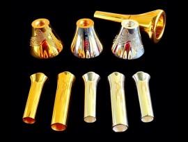 Trombone Duplo - Fenix - GOLD