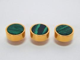 Botões c/ Pedra Mineral Lapidada - JC-BG0005