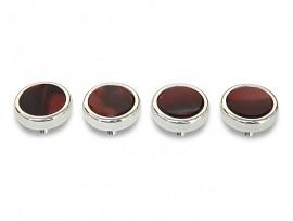 Botões c/ Pedra Mineral Lapidada* - Ref. JC-RS2