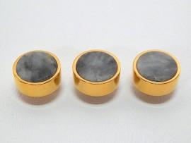 Botões c/ Pedra Mineral Lapidada - JC-BG0021