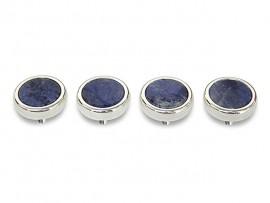 Botões c/ Pedra Mineral Lapidada* - Ref. JC-RS3