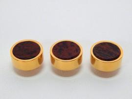Botões c/ Pedra Mineral Lapidada - JC-BG0006