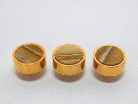 Botões c/ Pedra Mineral Lapidada - JC-BG0002