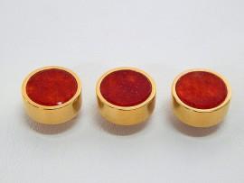 Botões c/ Pedra Mineral Lapidada - JC-BG0001