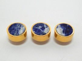 Botões c/ Pedra Mineral Lapidada - JC-BG0016
