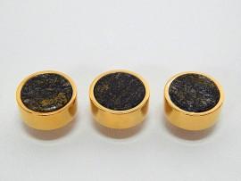 Botões c/ Pedra Mineral Lapidada - JC-BG0018