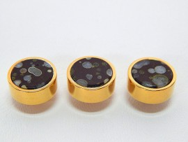 Botões c/ Pedra Mineral Lapidada - JC-BG0009