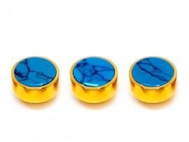 Botões c/ Pedra Mineral Lapidada - JC-BG0025