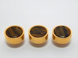 Botões c/ Pedra Mineral Lapidada - JC-BG0008