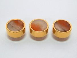 Botões c/ Pedra Mineral Lapidada - JC-BG0011