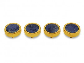 Botões c/ Pedra Mineral Lapidada* - Ref. JC-QG3