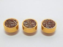 Botões c/ Pedra Mineral Lapidada - JC-BG0003