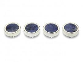 Botões c/ Pedra Mineral Lapidada* - Ref. JC-QS5